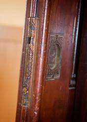 Pocket door detail